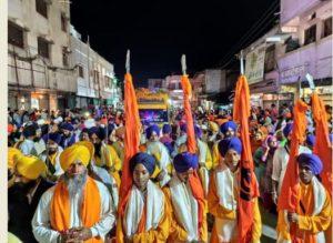 International Nagar Kirtan Takht Sri Hazoor Sahib Nanded To Aurangabad