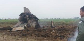 MiG Crash 1
