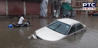Patiala: Heavy Rainfall causes flood-like situation in the Royal city, see photos