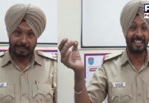 Punjabi song by ASI Bhupinder Singh on new traffic rules
