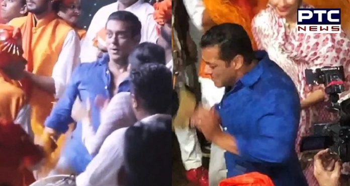 Watch: Salman Khan Dancing during Arpita Khan celebrations of Ganesh Chaturthi 2019