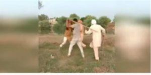 Sri Muktsar Sahib Village Sangu Dhoun working family Fight video viral