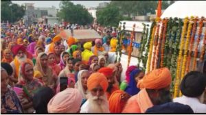 Nagar Kirtan begins from Sultanpur Lodhi to Batala on the marriage anniversary of Sri Guru Nanak Dev Ji