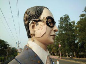 B. R. Ambedkar Statues Break