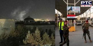 Rocket blast near US embassy in Kabul on 9/11 anniversary