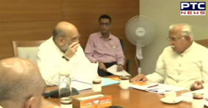 Haryana BJP Core Committee meeting with party President Amit Shah BJP Headquarters