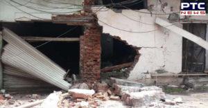 Amritsar TarnTaran Road Paint factory Explosion ,Terrible fire