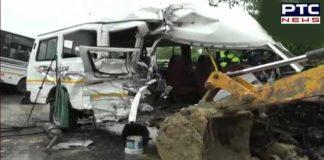 Assam: 10 killed in bus-minibus collision in Sivasagar district