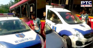 Chandigarh City Girl Auto driver With Rent Hyvoltage Drama , video viral