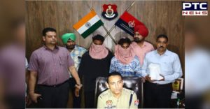 CIA staff and police 5 Crore heroin Including two smugglers Arrested