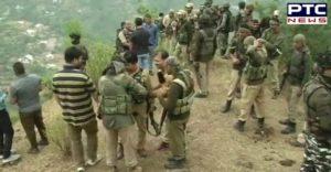 Jammu and Kashmir Ramban district 4 Terrorists Killed ,One soldier killed