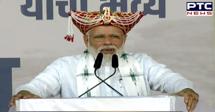 PM Narendra Modi addresses rally in Nashik, lists achievements in last 100 days