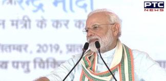 PM Narendra Modi calls for plastic-free India, terror-free world