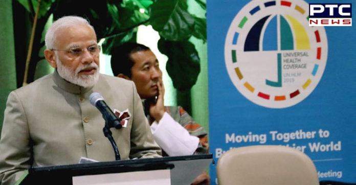 PM Narendra Modi addresses high-level meeting on Universal Health Coverage
