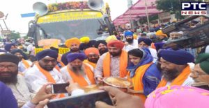 International Nagar Kirtan Gujarat CM Vijay Rupani Welcome In Ahmedabad