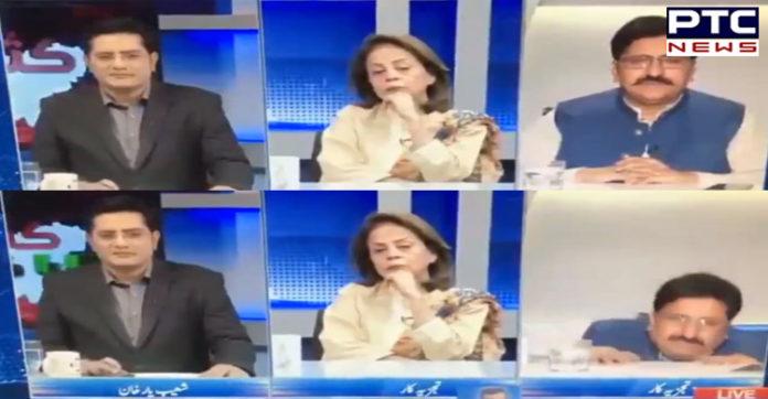 Watch: Panelist topples off chair in Pakistan news channel video; netizens in splits