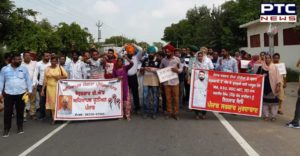 Sangrur Unemployed BED teachers eighth day protest