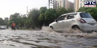 Rain lashes parts of Tricity, brings respite from heat