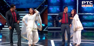 Bigg Boss 13: Punjabi sensation Shehnaz Kaur Gill dances with Salman Khan
