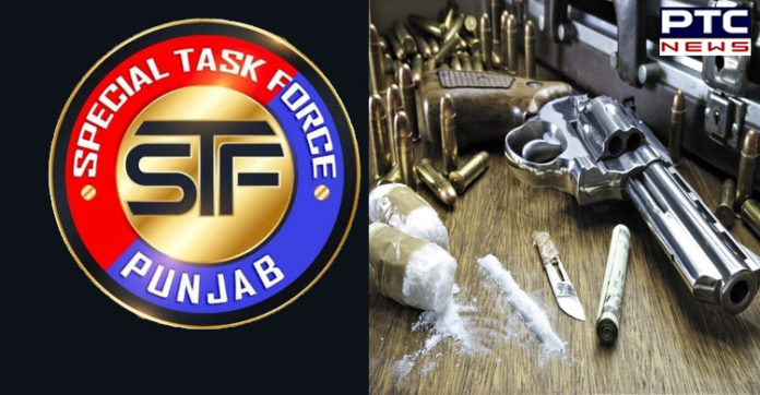 Ajnala STF Smuggler Weapons and drugs Including Arrested