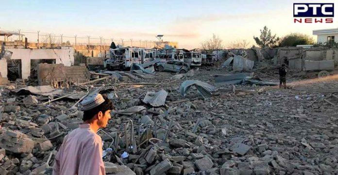 Afghanistan car bomb blast , 30 civilians killed and 40 injured