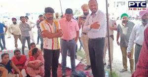 Sangrur: ETT TET Pass Unemployed Teacher Union Third teacher Police Admitted to Civil Hospital