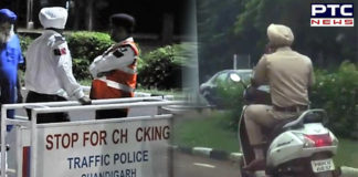 New Traffic Rules: Punjab Police official fined Rs 10,000 for violating traffic rules in Chandigarh