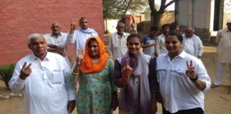 Haryana Assembly Elections 2019: Babita Phogat and family cast vote in Charkhi Dadri