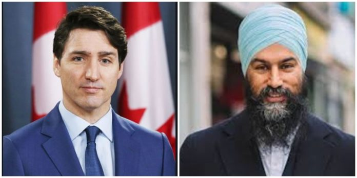 Canada Elections 2019 : Justin Trudeau Can Rebuild Government With Canada With Jagmeet Singh