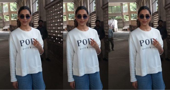Maharashtra Assembly Elections 2019: Deepika Padukone casts her vote in Bandra (West), Mumbai