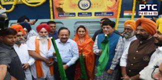 Harsimrat Kaur Badal flags off 'Sarbat da Bhala Express' at New Delhi