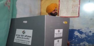 Punjab By-polls: SAD candidate Manpreet Singh Ayali casts his vote in Dakha constituency