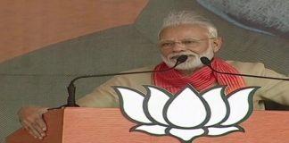 PM Narendra Modi calls for gender equality at rally in Haryana