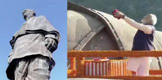 Sardar Vallabhbhai Patel Birth Anniversary: PM Modi pays tribute at 'Statue of Unity' in Gujarat