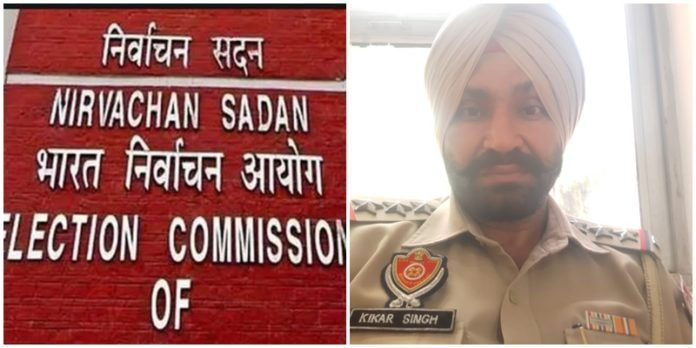 Election Commission Inspector Kikar Singh new SHO Police Station Dakha