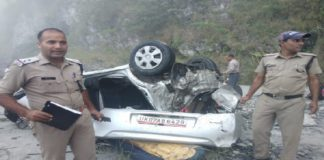 Car crash kills seven of family in Tehri Garhwal