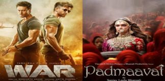 War box office collection Day 20: Hrithik Roshan, Tiger Shroff-starrer beats Padmaavat