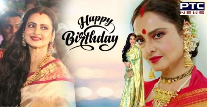Happy Birthday Rekha: Lesser-known facts about the beautiful Diva