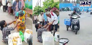 Andhra Pradesh, Handicapped man