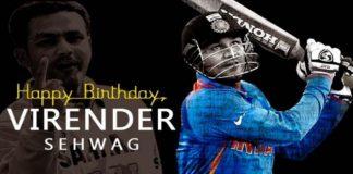 Happy Birthday Virender Sehwag