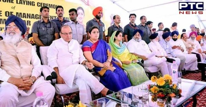 Harsimrat Kaur Badal urges IIM, Amritsar be dedicated to Sri Guru Nanak Dev Ji