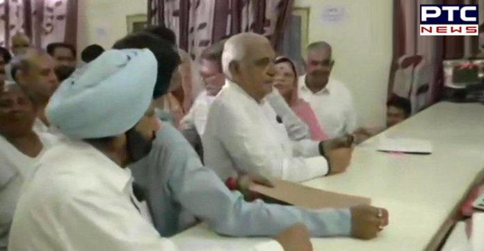 Haryana Former CM And Congress leader Bhupinder Singh Hooda files his nomination from Garhi Sampla-Kiloi