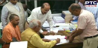 Haryana Assembly Election 2019: Haryana CM Manohar Lal Khattar files nomination from Karnal