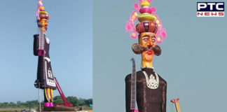 Dussehra 2019: 300 bouncers to guard India's tallest Ravana effigy in Chandigarh