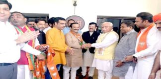 tarun bhandari joins bjp