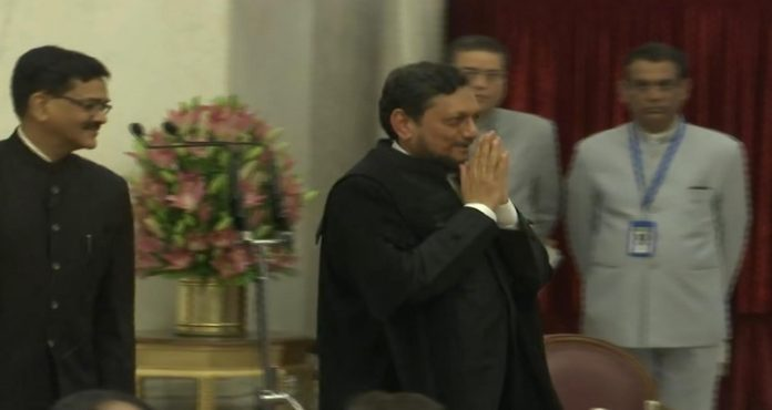 Justice Sharad Arvind Bobde sworn-in as the 47th Chief Justice of India