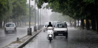 Temperature plummets after light to moderate rain in Tricity