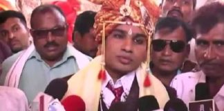 Dalit groom stopped from entering a temple in Madhya Pradesh