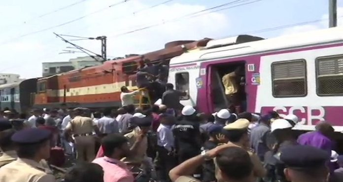 Hyderabad: Two trains collide at Kacheguda Railway Station