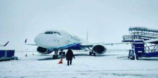 Srinagar: Indigo Airlines suspends flight ops due to snowfall